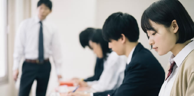 箕面の個別学習塾の高校生コース